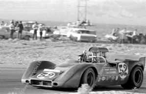 McLaren M6B Peter Revson. Las Vegas Can Am 1968 (B)